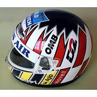 Alexander Wurz Benetton Helm