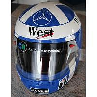 David Coulthard McLaren Helm