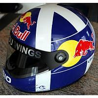 David Coulthard Red Bull Helm