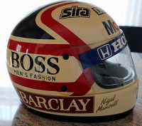 Nigel Mansell Williams-Honda Helm