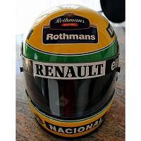 Ayrton Senna Williams-Renault Helm