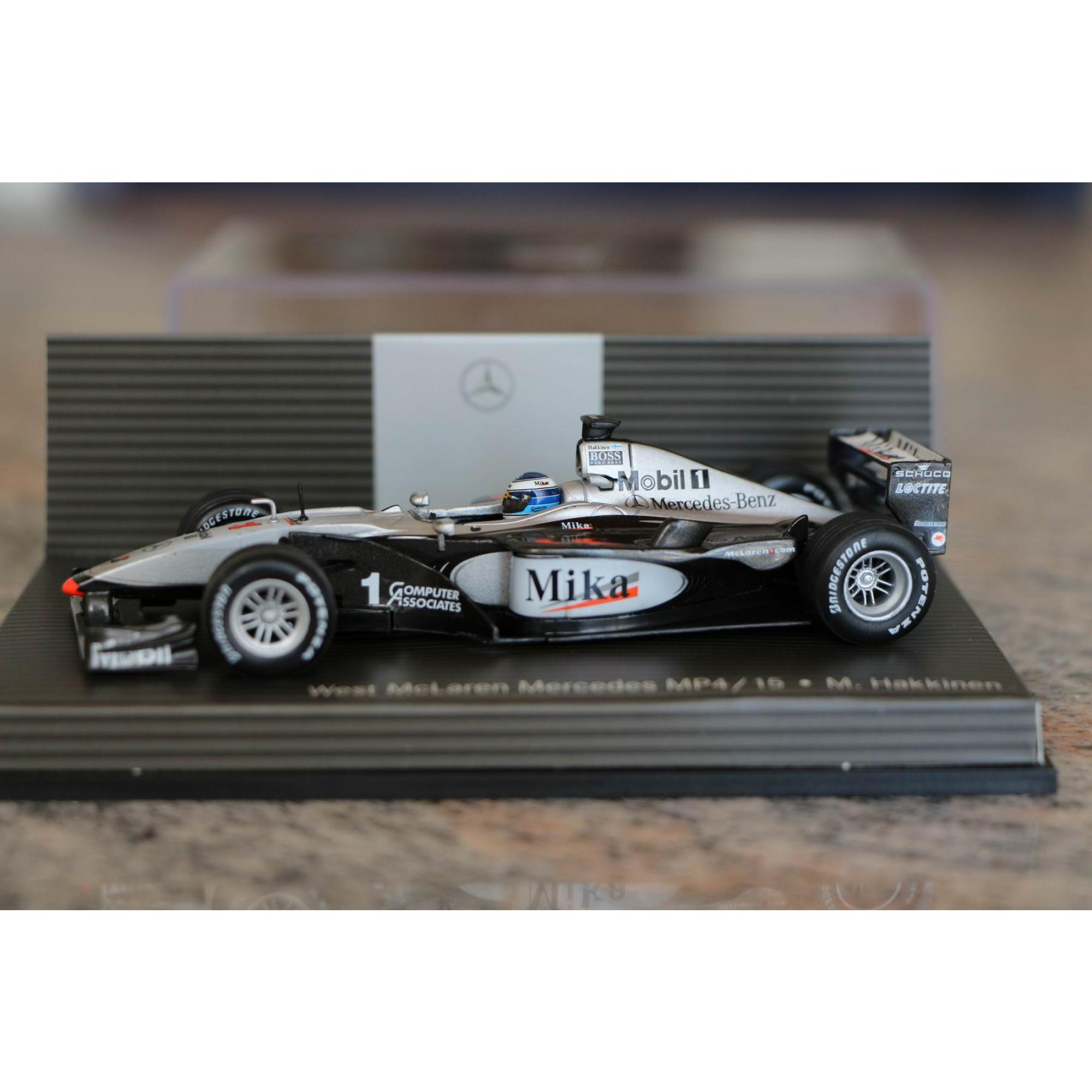 formel 1 mclaren mp4 15 mika hakkinen 1 43 formel 1. Black Bedroom Furniture Sets. Home Design Ideas