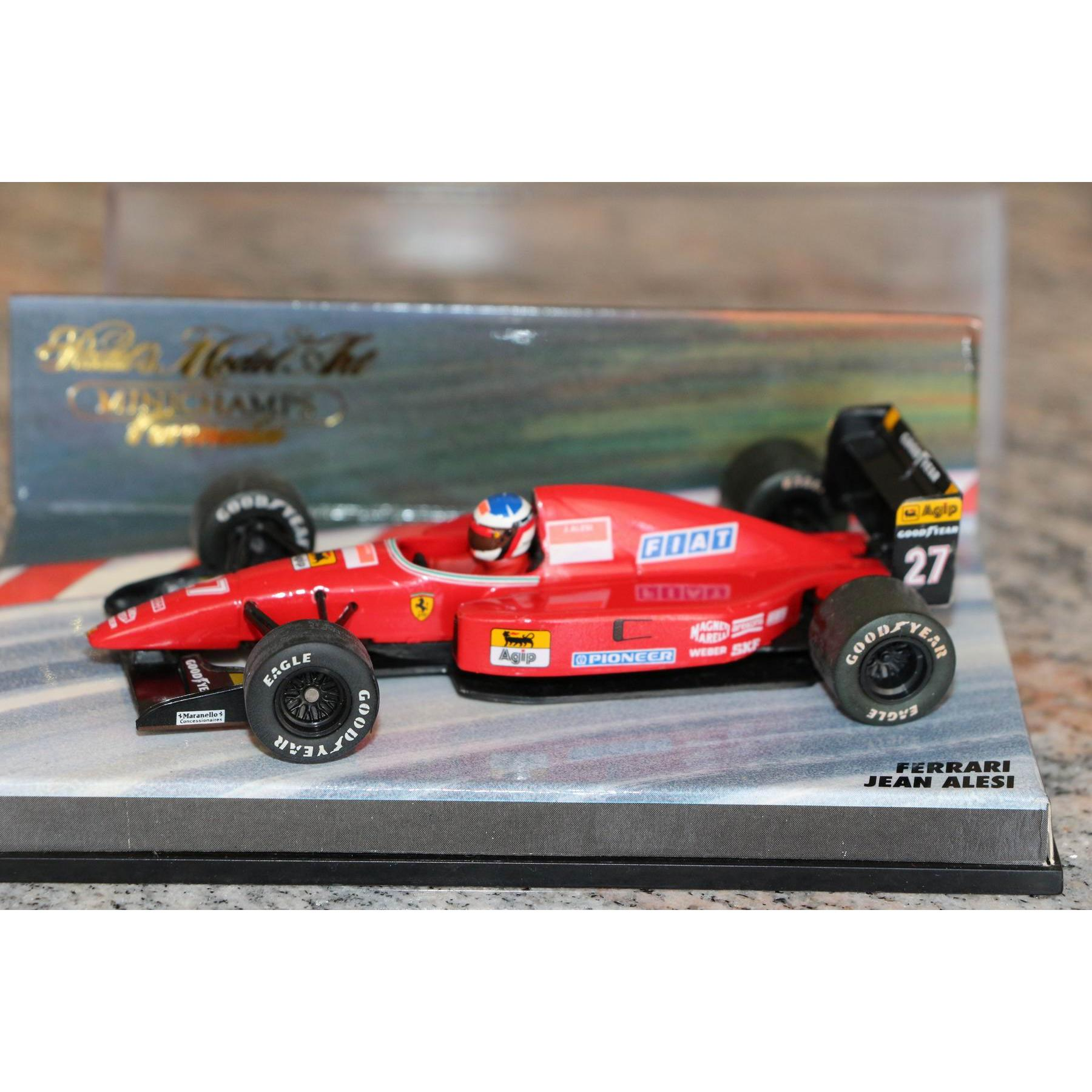 formel 1 ferrari 644 jean alesi 1 43 formel 1 steff 39 s. Black Bedroom Furniture Sets. Home Design Ideas