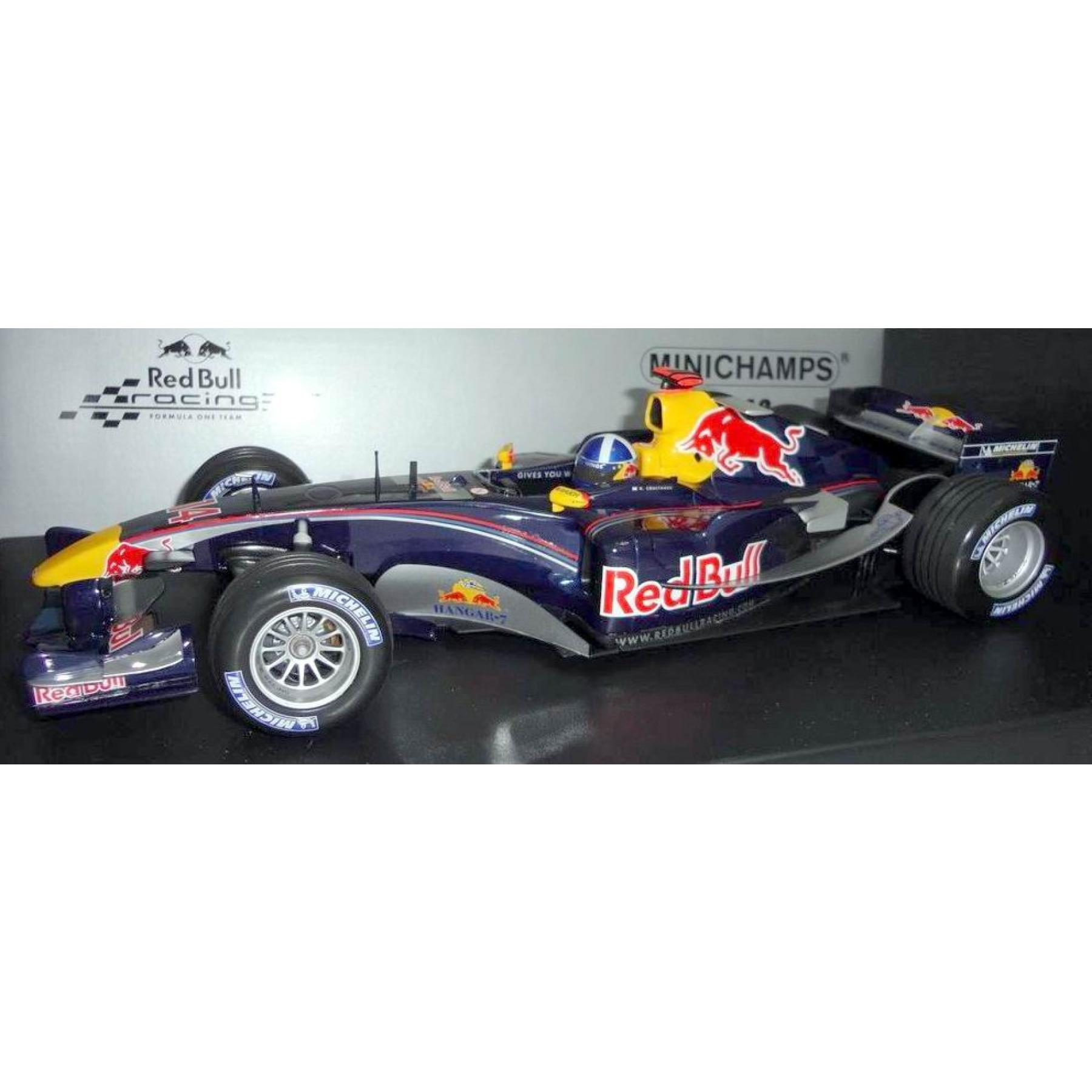 formel 1 red bull rb1 david coulthard 1 18 formel 1. Black Bedroom Furniture Sets. Home Design Ideas