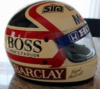 Nigel Mansell Williams-Honda Helm