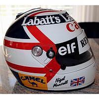 Nigel Mansell Williams-Renault Helm