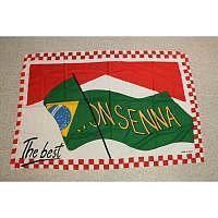Ayrton Senna Fahne